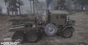 Oshkosh M1070 HET Truck - Spintires: MudRunner , 1 photo