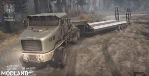 Oshkosh M1070 HET Truck - Spintires: MudRunner , 3 photo