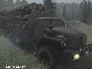 Ural-4320 v07.11.17 - Spintires: MudRunner, 2 photo