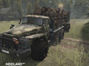 Ural-43201 SGS Truck v17.11.17 - Spintires: MudRunner , 2 photo