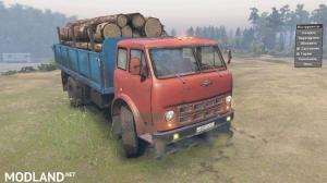 Maz 500 Truck v 1.0