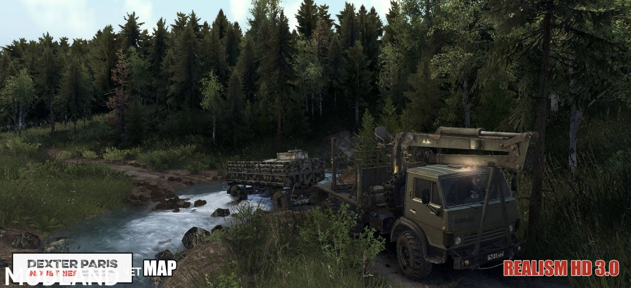 Spintires Realism HD