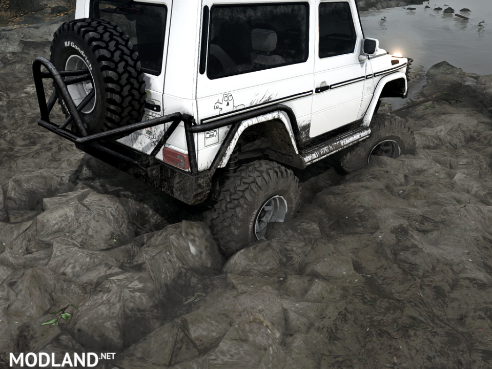 """""""We remove pieces of dirt from the wheels for Spintires: Mudrunner"""""""