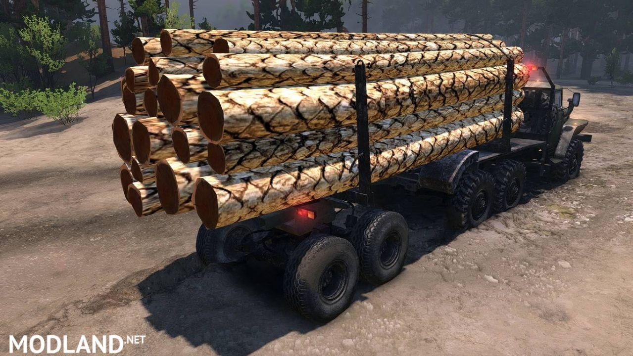 "Texture ""Logs"""