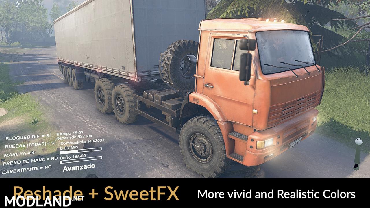 Reshade v3.0.8 + SweetFX v 2.0 Final (Preset v1.1)