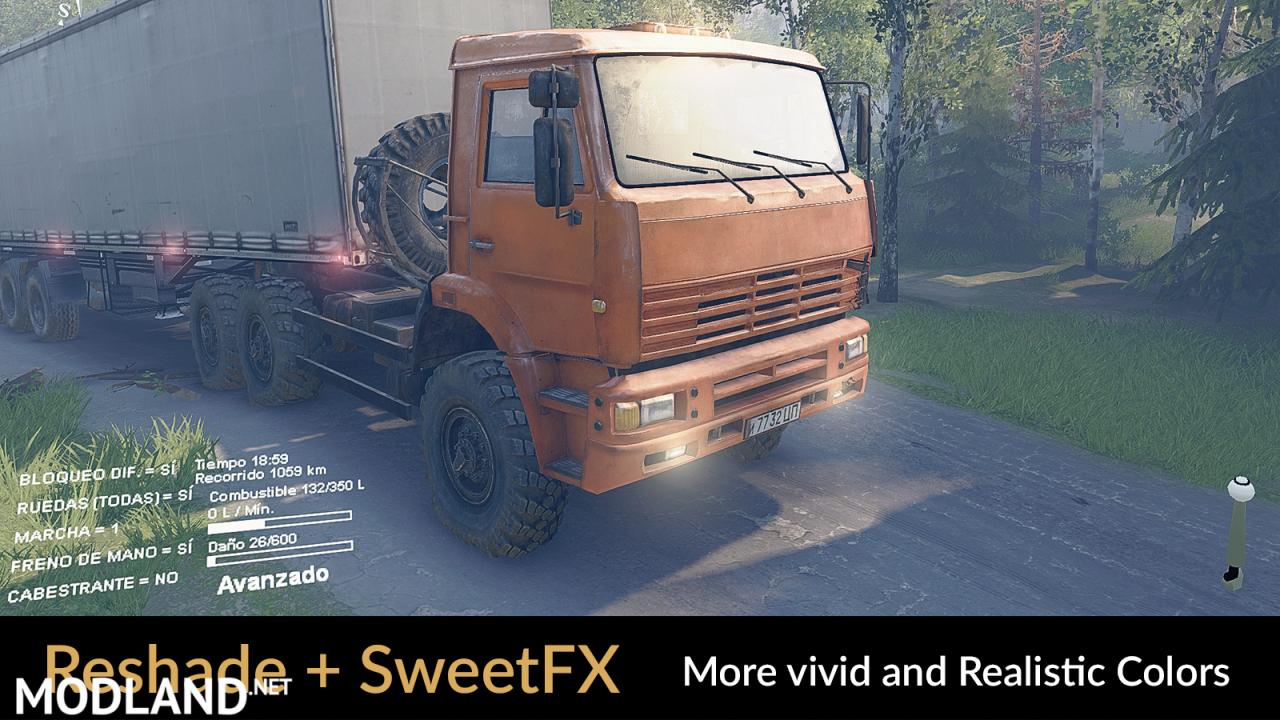 Reshade v3.0.8 + SweetFX v2.0 Final (Preset v1.2)
