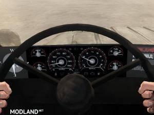 Texture Instrument Panel Racing V 1.0 - Spintires: MudRunner