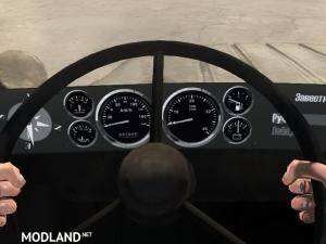 Texture of the instrument panel Classic v.2 - Spintires: MudRunner