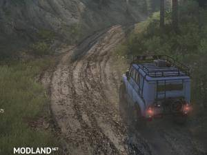 Textures: mud and forest road v1.0 - Spintires: MudRunner