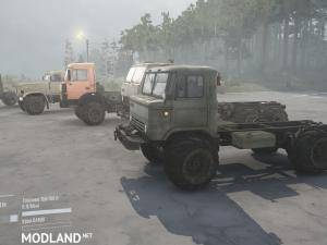 Arched wheels for default v1.0 - Spintires: MudRunner, 1 photo