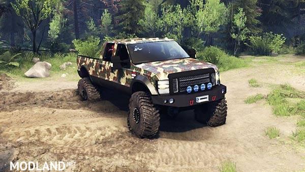 Ford F 350 Super Duty 6.8 2008 v 0.1.0 ambush cam