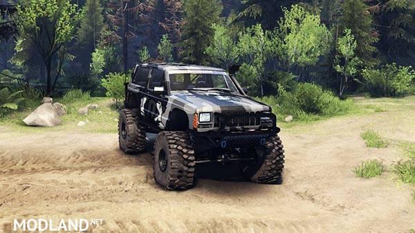 Jeep Cherokee XJ v 1.3 Camo