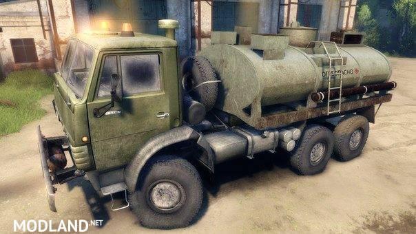 Kamaz 43101 Tanker