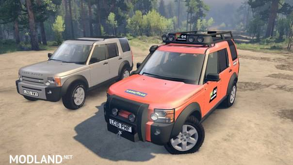 Landrover Discovery 3 Pack