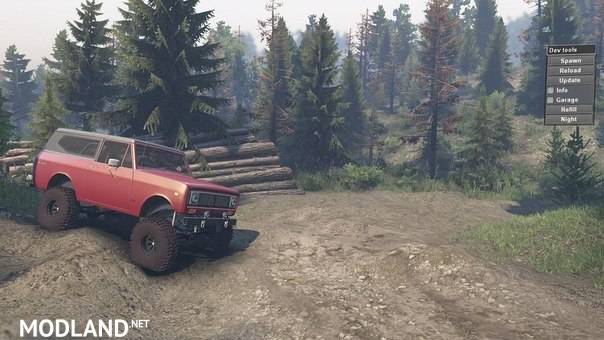 SID 1977 International Scout II – SpinTires 23.10.15 & 8.11.15