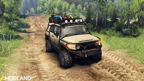 Toyota FJ Cruiser brown