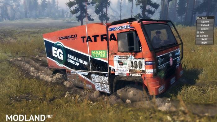 Toyota Spin Card >> Tatra 815 Dakar