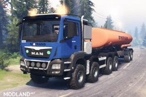 MAN TGS 41.480 8х8 for Spin Tires, 2 photo