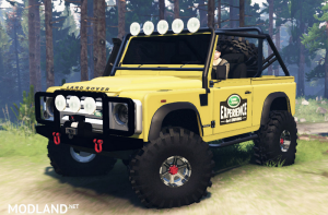Land Rover Defender 90 for Spin Tires, 1 photo