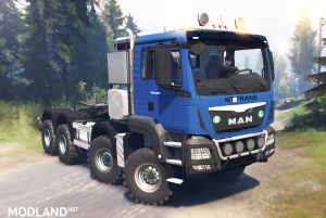 MAN TGS 41.480 8х8 for Spin Tires, 1 photo