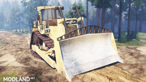 Caterpillar D9 for Spintires 2014