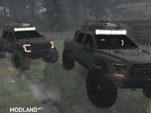 Ford Raptor 2016 v2.0 - Spintires: MudRunner, 3 photo