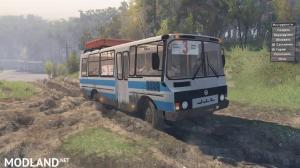 PAZ-3205 4×2 BUS v 1.2