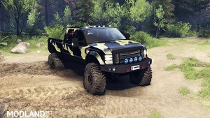 Ford F350 Super Duty 6.8 2008 v 0.1.0 camo, 1 photo