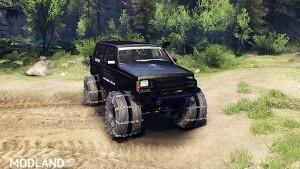 Jeep Cherokee XJ v1.3 Rough Country black, 1 photo