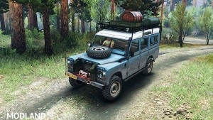 Land Rover Defender Series III v 2.2 Blue, 1 photo