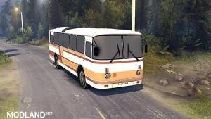 Laz 699Р orange-brown stripes, 1 photo