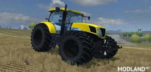 New Holland T7030 Yellow, 1 photo