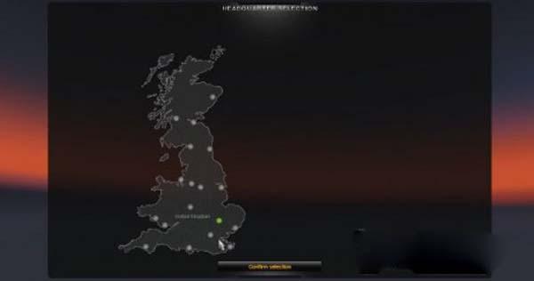 Uk Map Standalone 1 8 2 5 Ukts 2 Mod For Ets 2