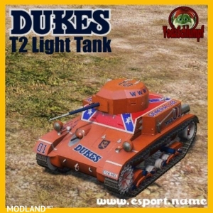 DUKES Race Tank v 0.9.3, 4 photo