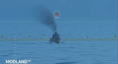 Piranha sight for WoWs 0.7.7, 1 photo