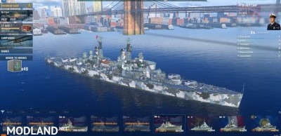 Set of camouflage for WoWs 0.7.4.1, 5 photo
