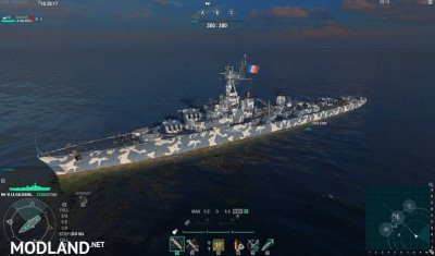 Set of camouflage for WoWs 0.7.4.1